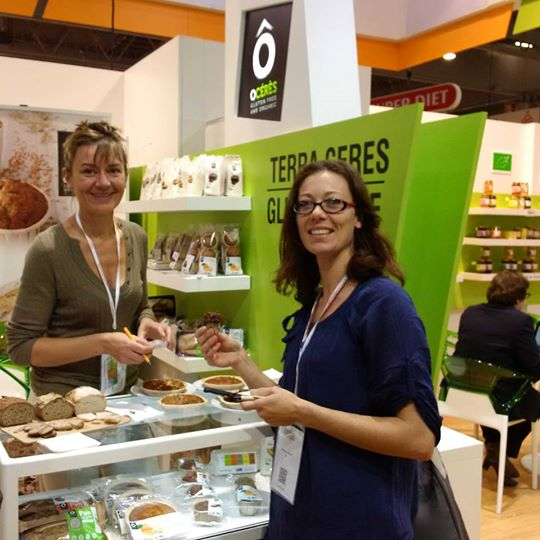 Meeting @Natexpo2015 with Frédérique Barral fondatrice of Niépi (www.niepi.fr)