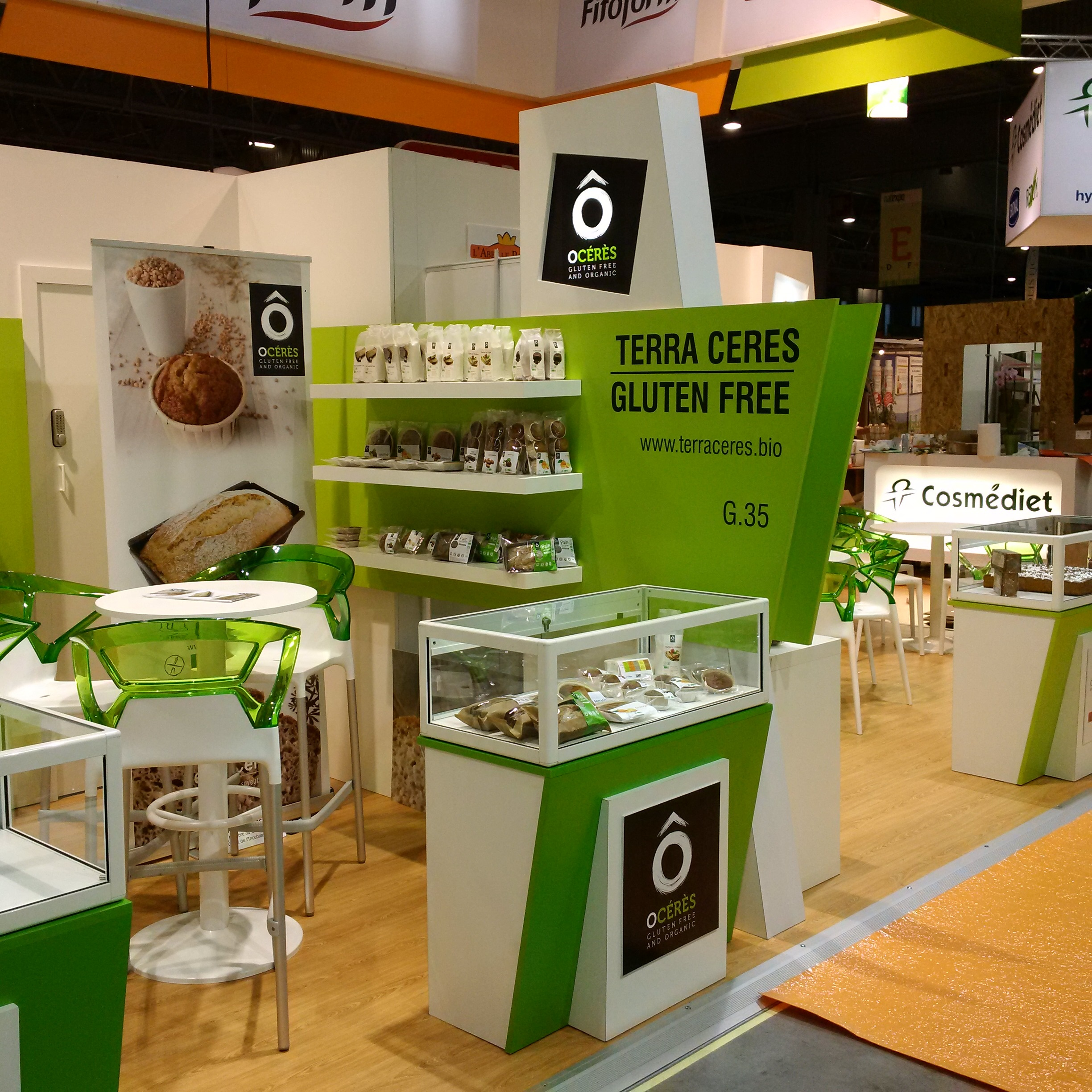 First Salon Natexpo for Terra Cérès (stand G35)